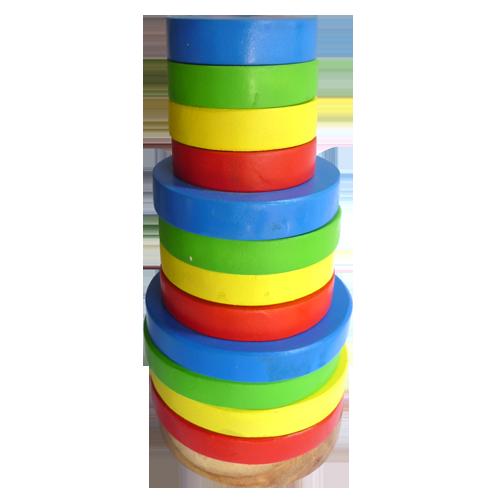 Mainan Edukatif Anak Menara Pelangi