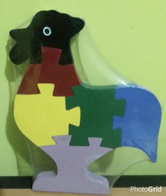 Mainan Puzzle 3D Ayam