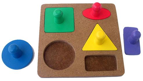 mainan edukatif puzzle geometri knop