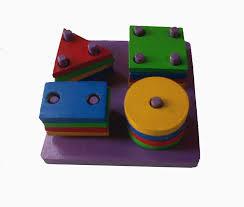 alat permainan edukatif balok geometri