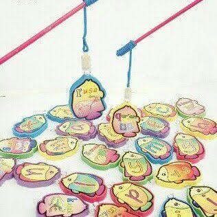 mainan pancing huruf magnet
