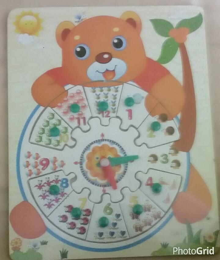 mainan puzzle jam edukatif