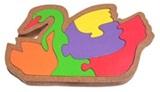 puzzle angsa
