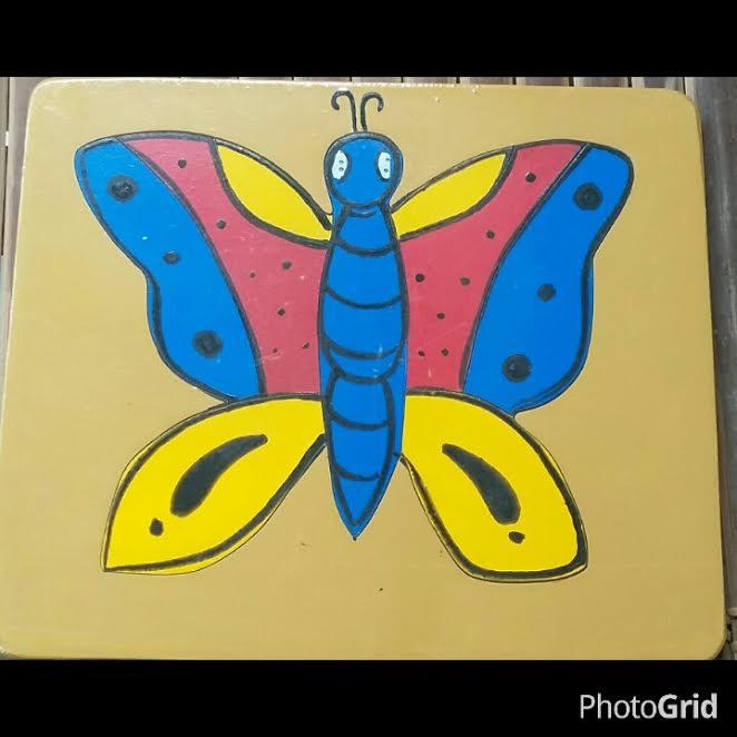 puzzle kupu - kupu