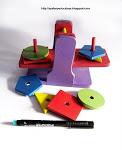 mainan timbangan geometri