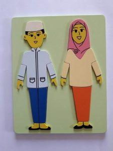 Grosir Puzzle Kayu Puzzle Anatomi Muslim-min