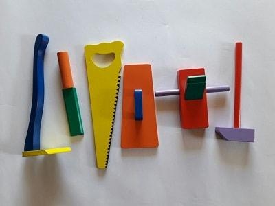 alat permainan edukatif alat pertukangan-