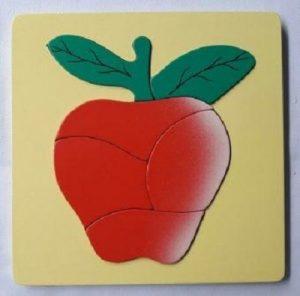 jual mainan anak edukasi puzzle buah apel-min