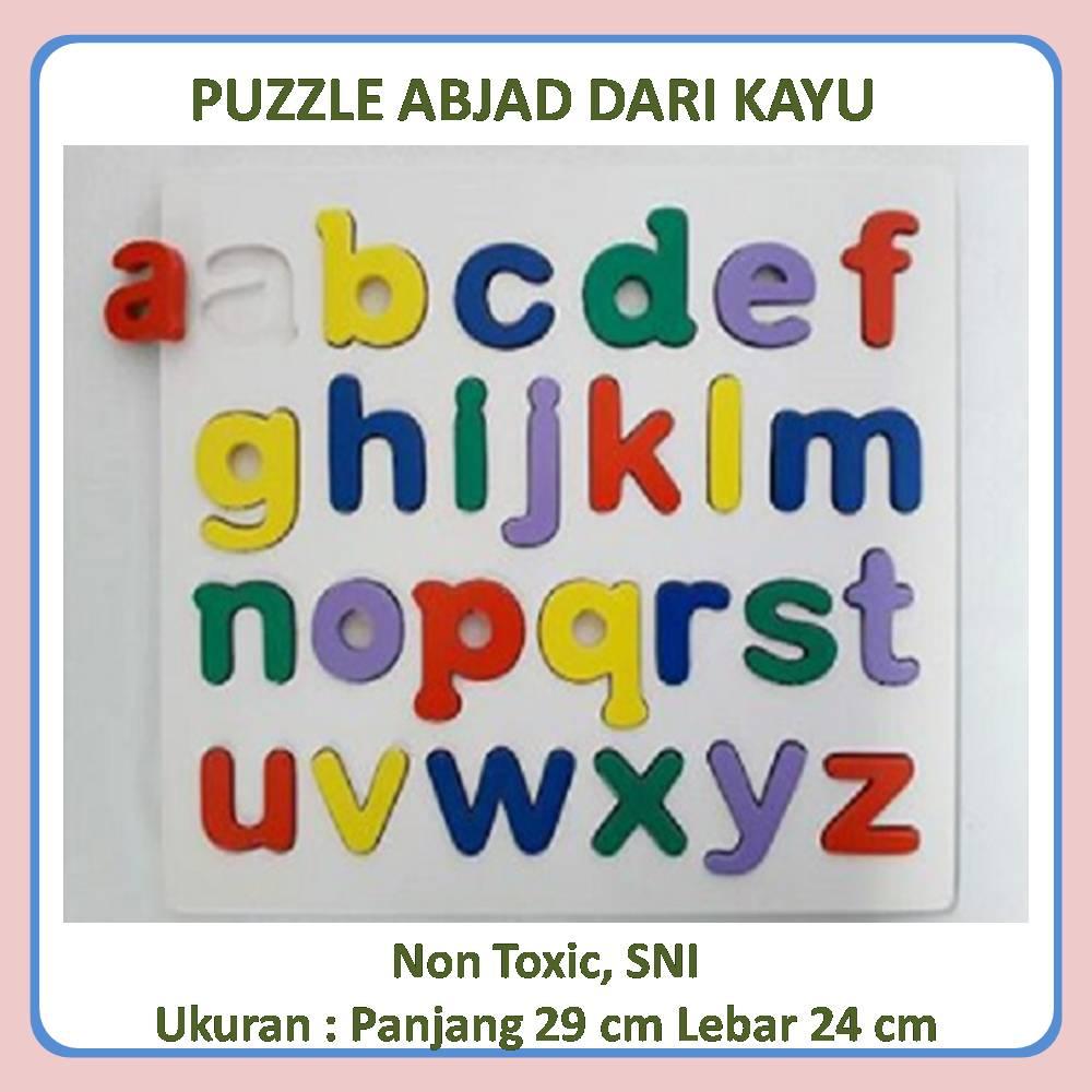 jual puzzle huruf kecil