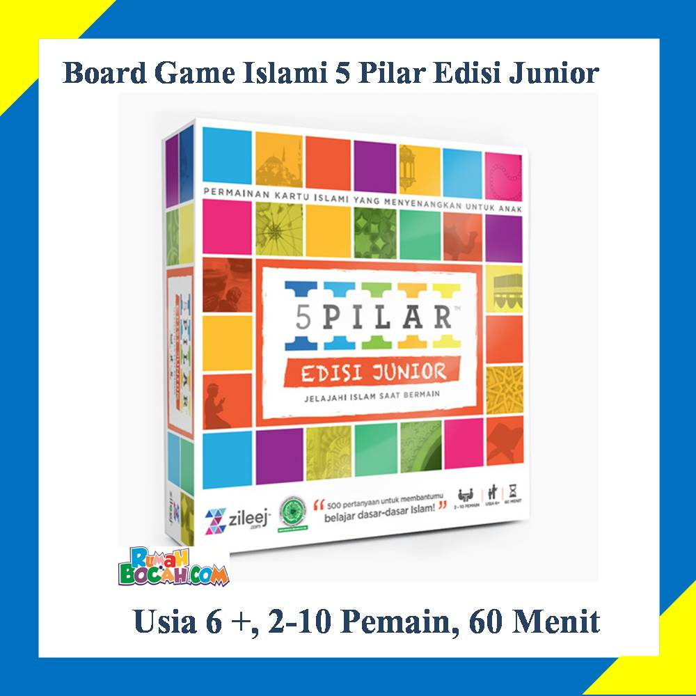 board game islami 5 pilar edisi junior