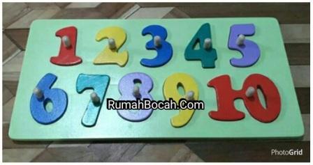 jual puzzle angka anak TK