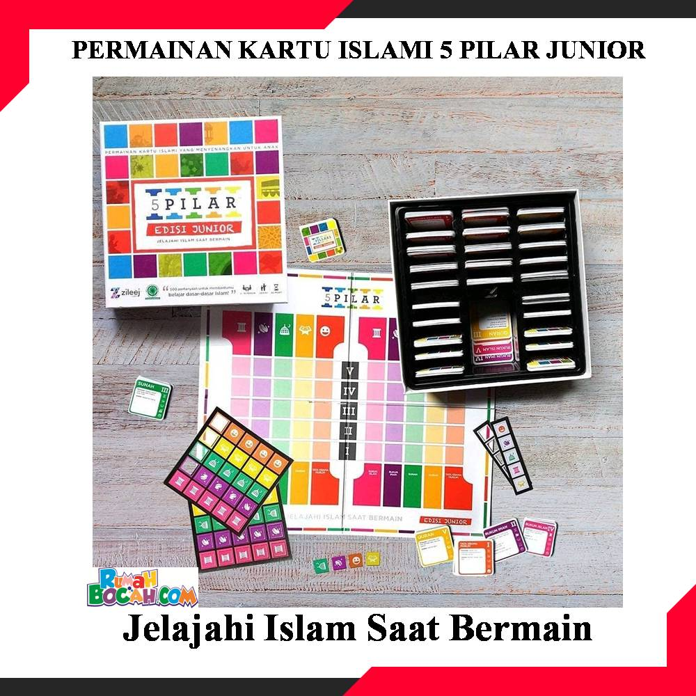 permainan kartu anak islami