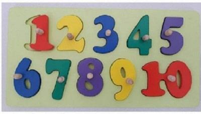 puzzle angka kayu