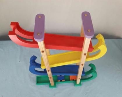 Jual Mainan Anak Dari Kayu Sliding Car