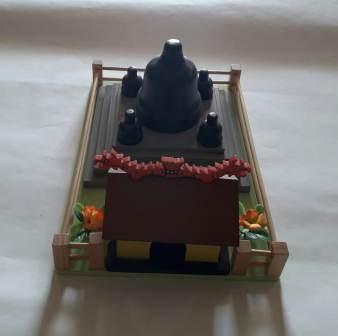 Jual Mainan Edukatif Dari Kayu Miniatur wihara