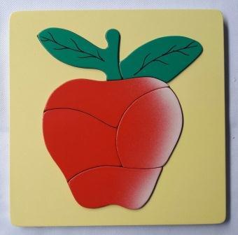 jual mainan anak edukasi puzzle buah apel