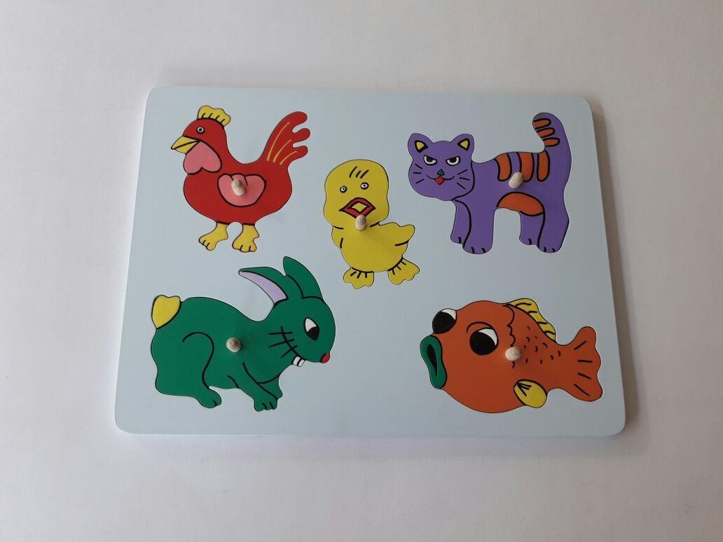 jual puzzle hewan peliharaan