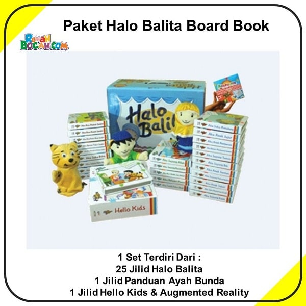 Jual Buku Halo Balita Best Seller Arisan-min