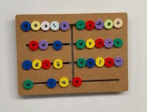 Toko Mainan Balok Maze Abjad