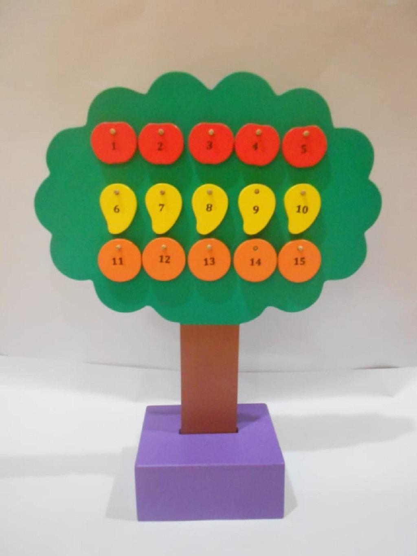 Jual Mainan Edukasi Anak Pohon Angka
