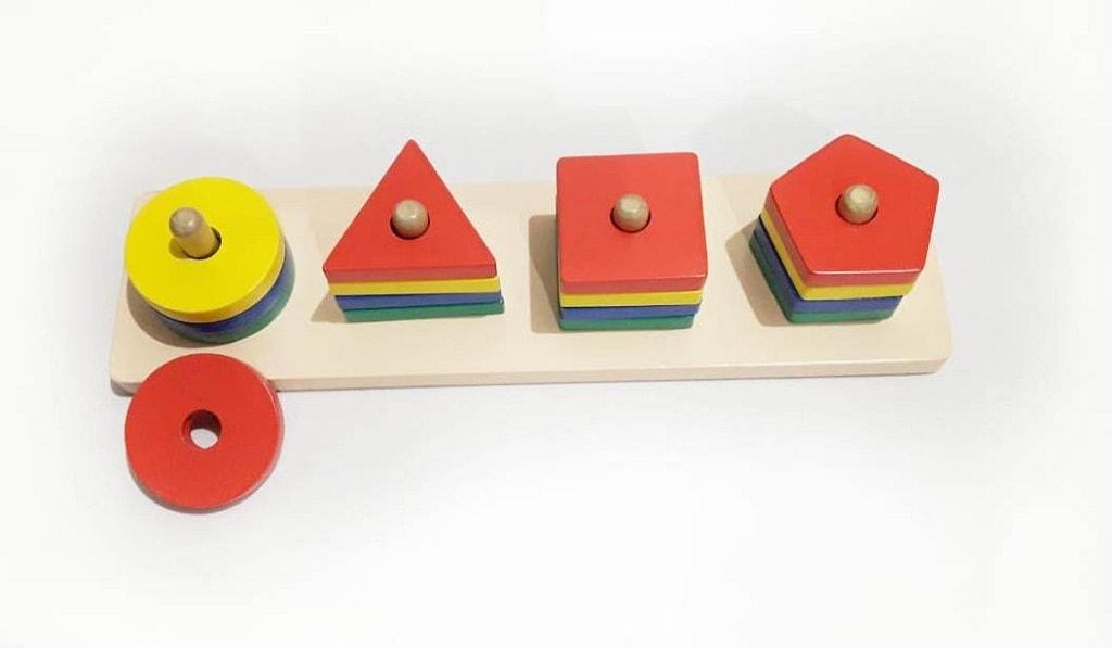 Jual Mainan Edukatif Murah Menara Geometri