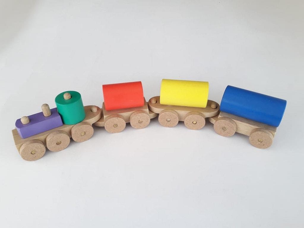 Jual Permainan Edukatif Balok Kereta Tangki