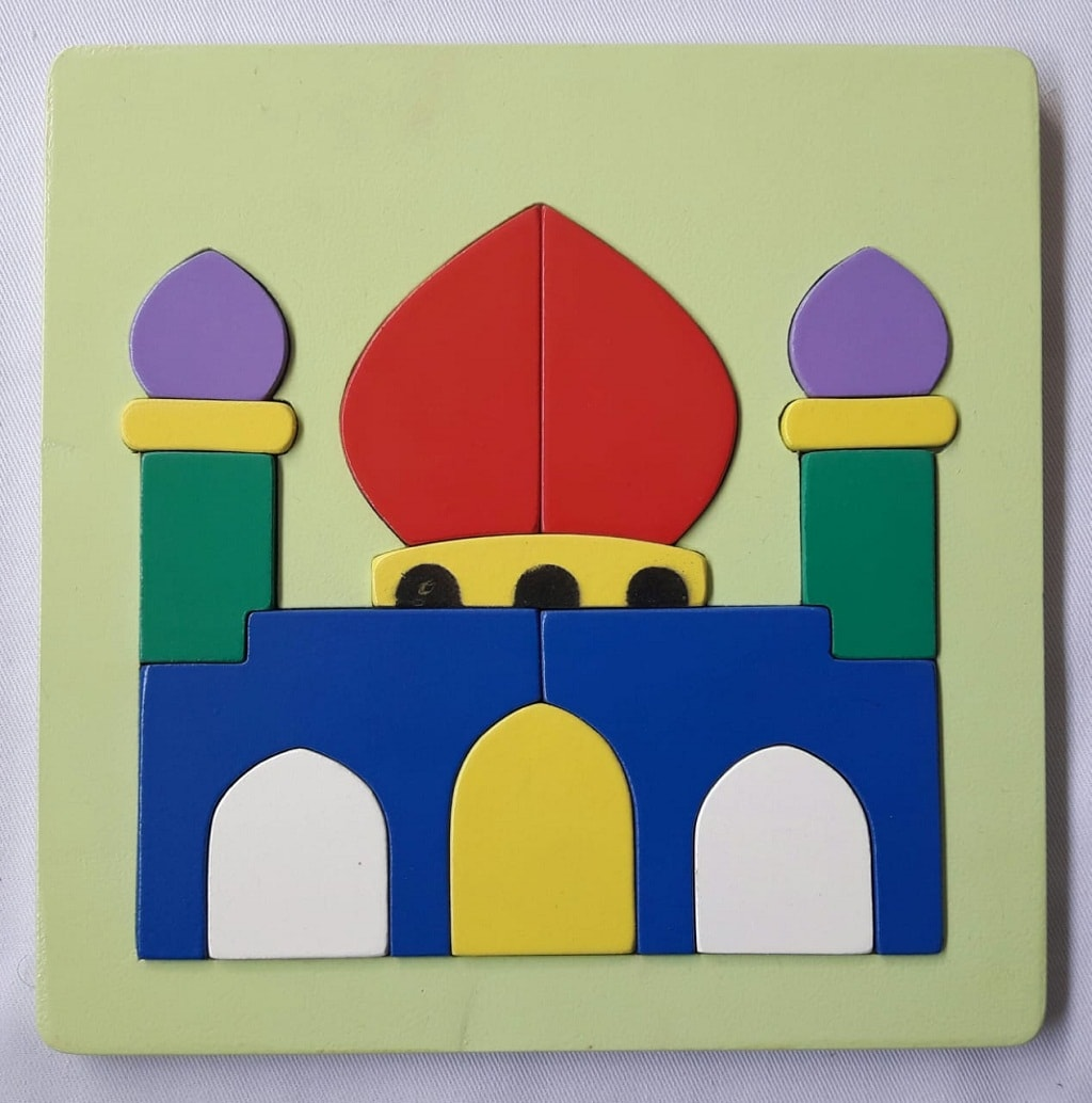 Puzzle Rumah Ibadah Masjid