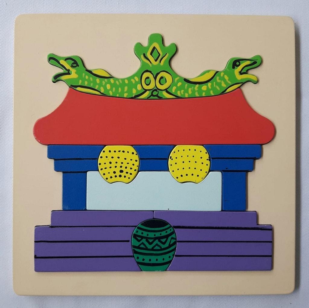 Puzzle Rumah Ibadah agama Kong Hu Cu klenteng
