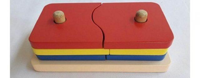 Jual Mainan Edukasi Anak Menara Persegi belah