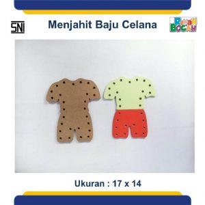 TToko Online Mainan Edukatif Anak Papan Jahit Baju Celana