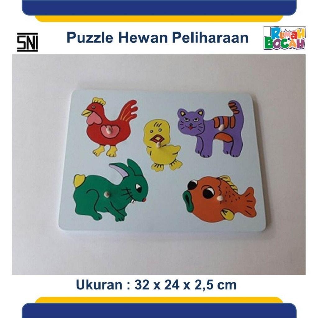Jual Mainan Edukasi Online puzzle hewan