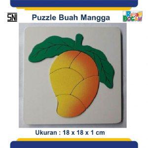Jual Mainan Edukasi Untuk Balita Puzzle Kayu Buah