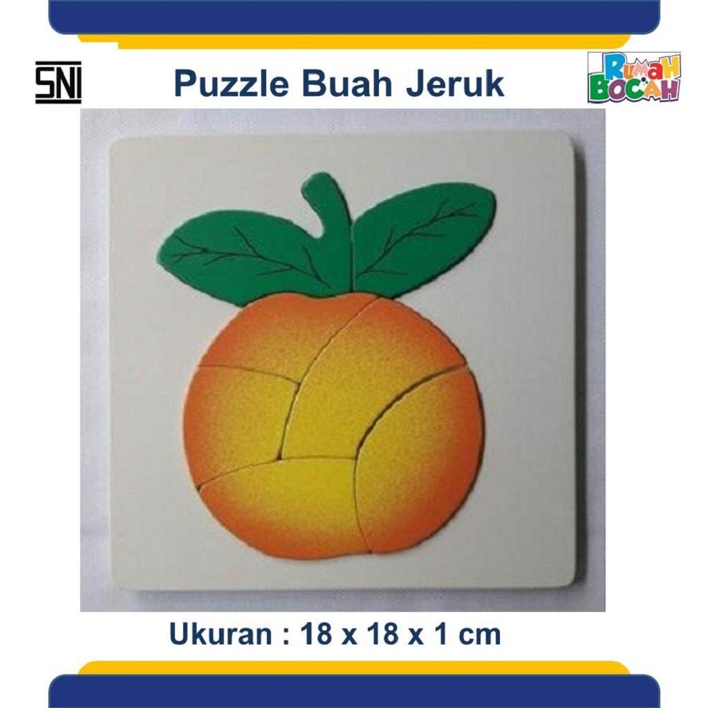 Tempat Jual Grosir Puzzle Kayu Buah Jeruk Murah