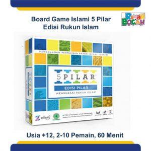 Promo Board Game Islami 5 Pilar Edisi Rukun Islam Terbaik