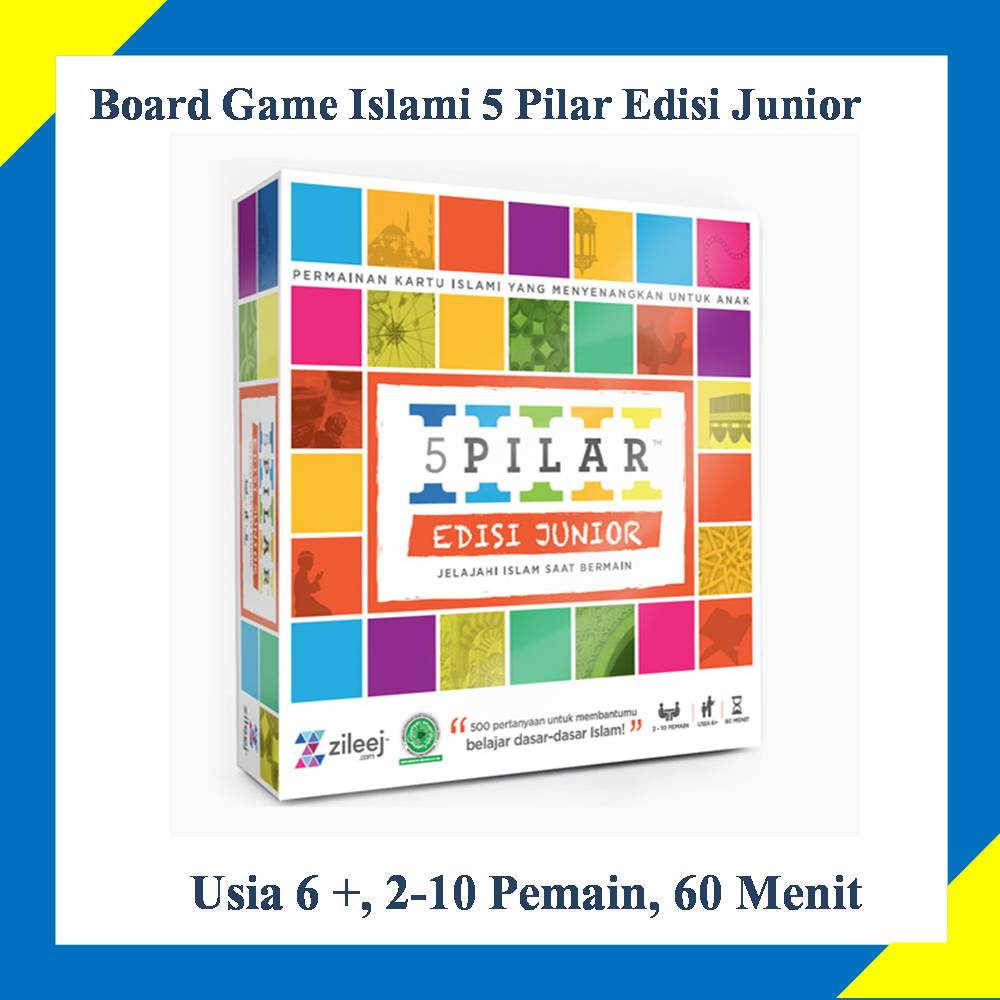 board game islami 5 pilar edisi junior - 0821.3704.9901
