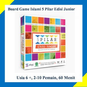 Mainan Edukasi Board Game Anak  Islami Pilar Junior