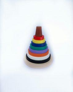 Jual Mainan Balok Kayu Menara Warna