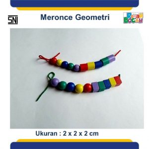 Jual Mainan Anak Dari Kayu Meronce Geometri