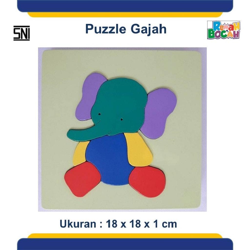 Jual Mainan Puzzle Hewan Gajah