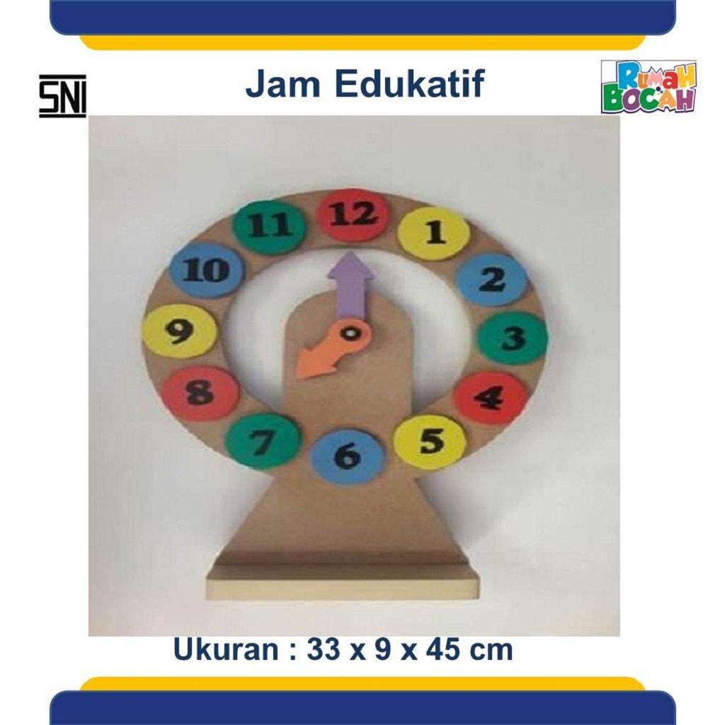 Pusat Grosir Mainan Edukasi Anak Jam Edukatif