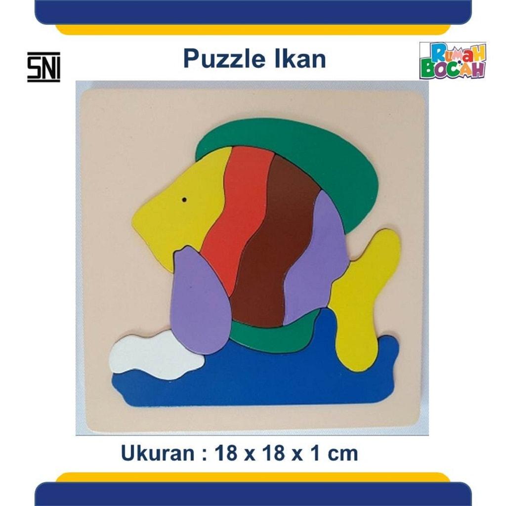Jual Mainan Puzzle Hewan Ikan