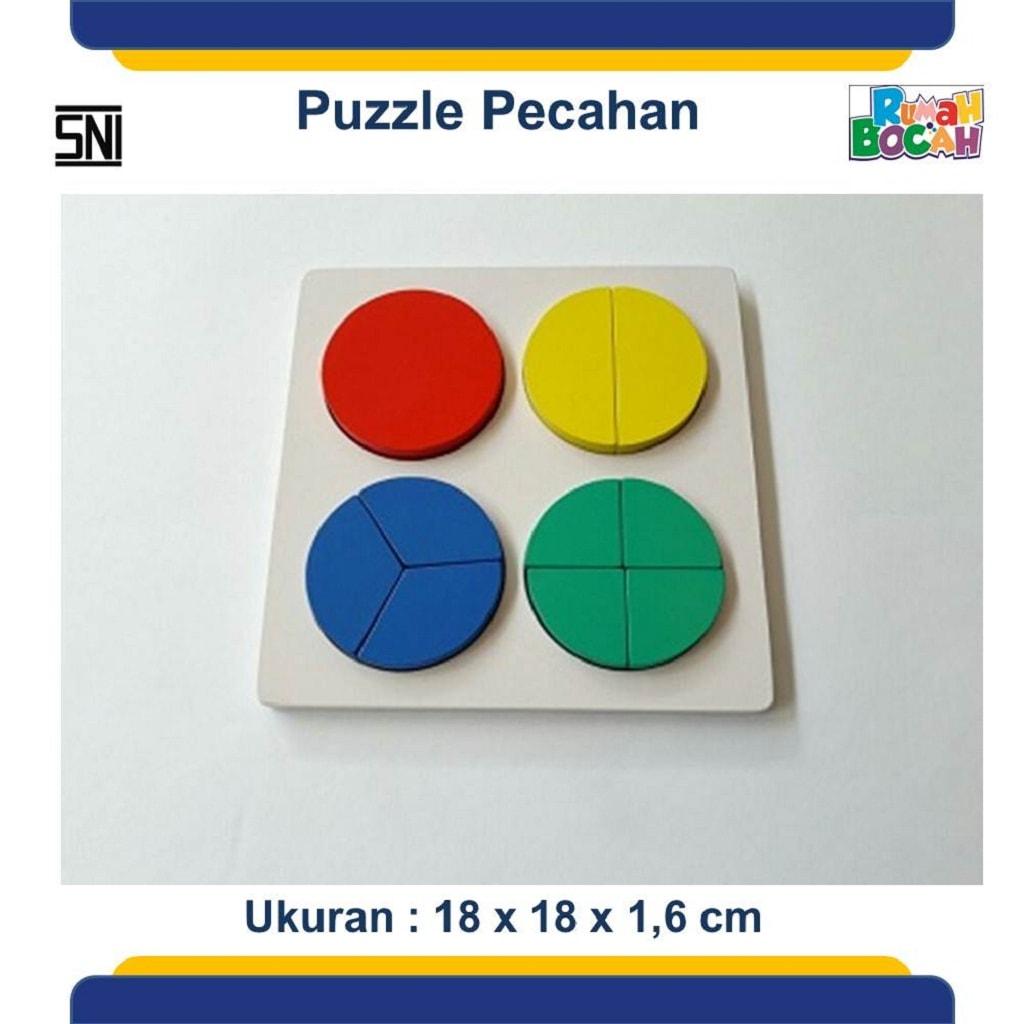 Puzzle Kayu Pecahan Untuk Anak