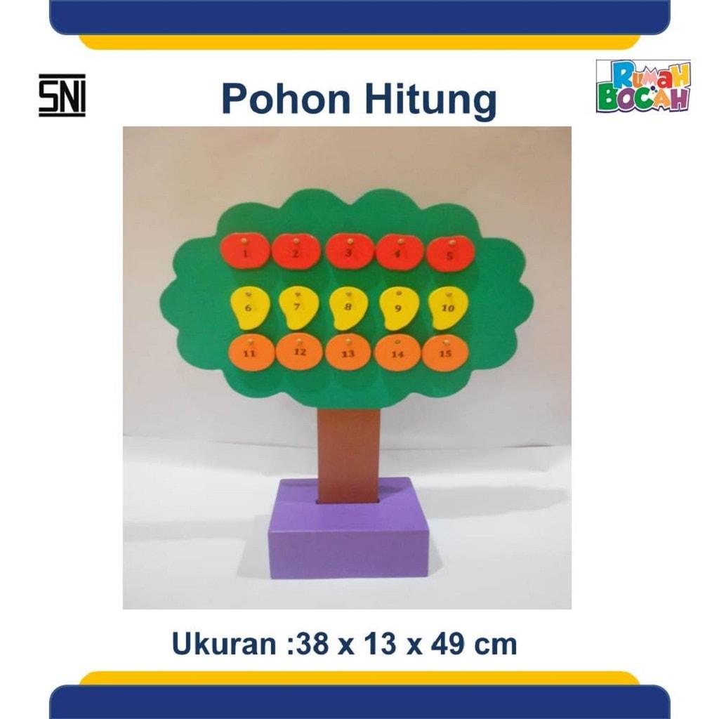 Jual Mainan Edukasi Anak Pohon Hitung Angka