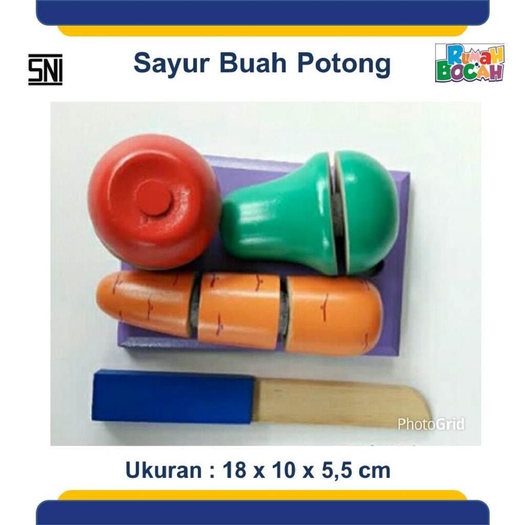 Produsen Mainan Anak Edukatif Sayur Buah Potong Iris