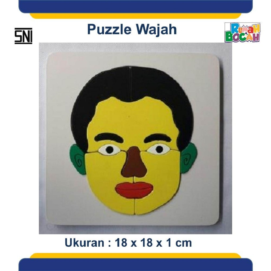 Jual Mainan Puzzle Anak Wajah