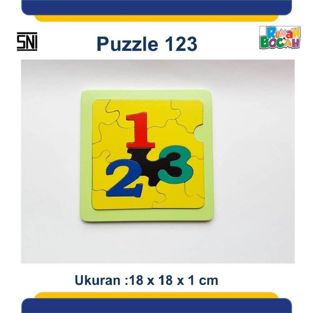 Jual Mainan Puzzle Kayu 123