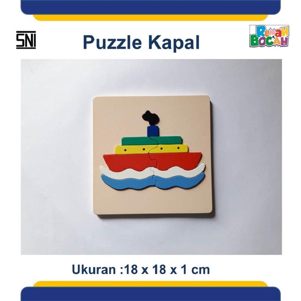 Jual Mainan Puzzle Kapal