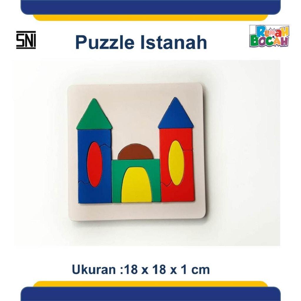 Jual Puzzle Kayu Istanah Murah