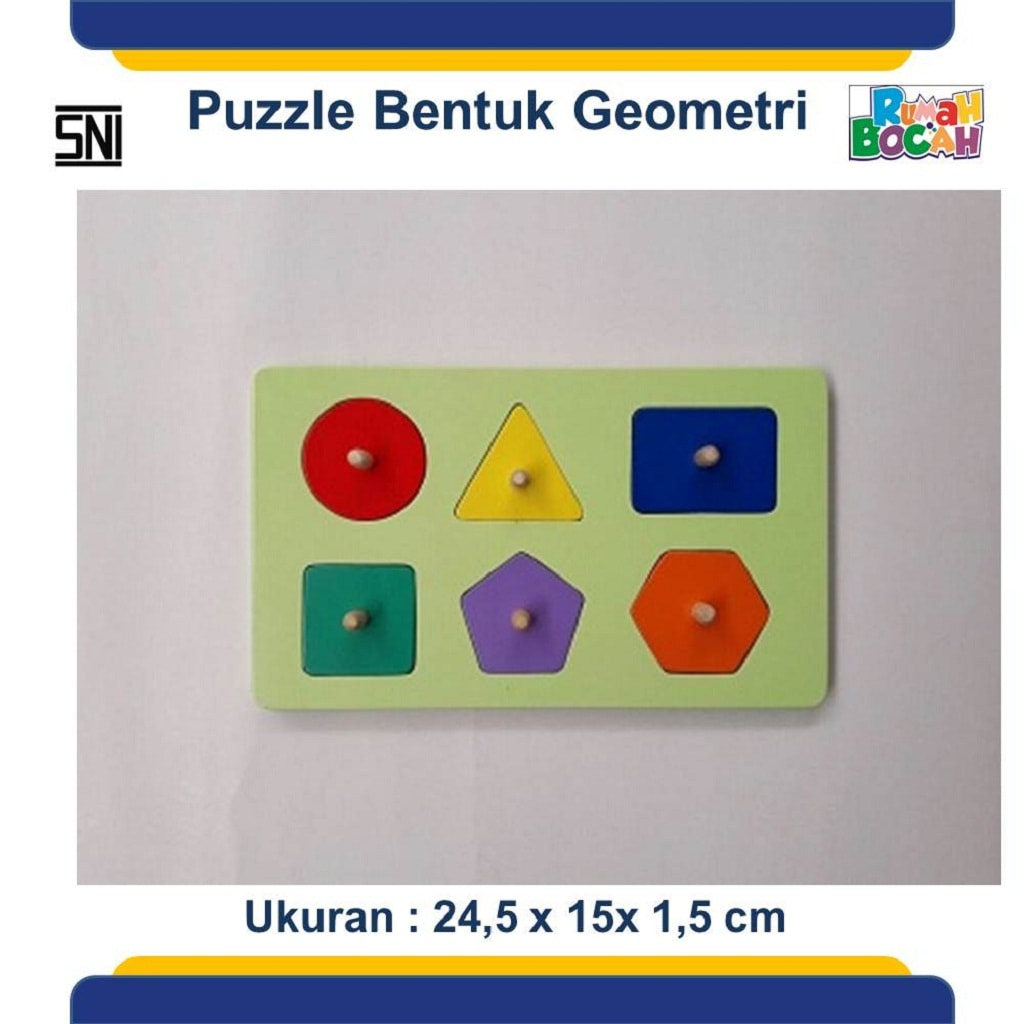 Jual Puzzle Geometri