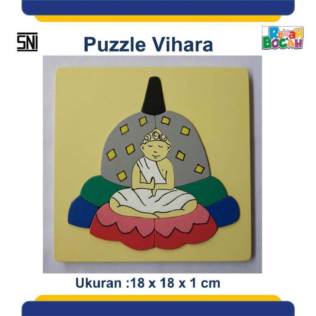 Grosir Puzzle Murah Rumah Ibadah Vihara